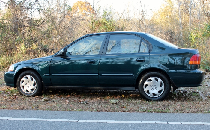 1998 Honda Civic Green Four Cylinder Gas Saver Automatic 1.6 Liter GS Auto Sales, LLC 2750 Meadow Road Clover SC 29710 (10)