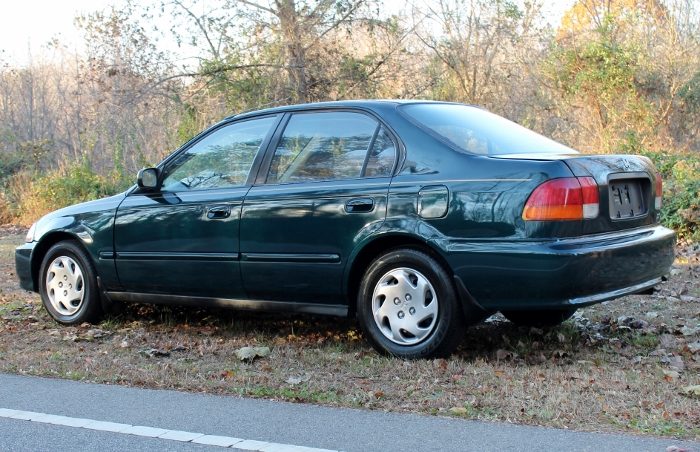 1998 Honda Civic Green Four Cylinder Gas Saver Automatic 1.6 Liter GS Auto Sales, LLC 2750 Meadow Road Clover SC 29710 (11)