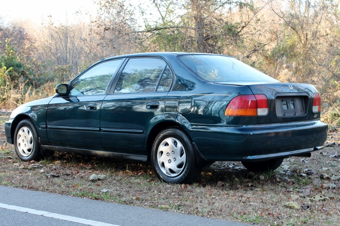 1998 Honda Civic Green Four Cylinder Gas Saver Automatic 1.6 Liter GS Auto Sales, LLC 2750 Meadow Road Clover SC 29710 (12)