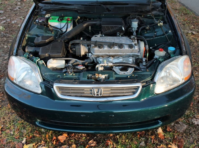 1998 Honda Civic Green Four Cylinder Gas Saver Automatic 1.6 Liter GS Auto Sales, LLC 2750 Meadow Road Clover SC 29710 (14)