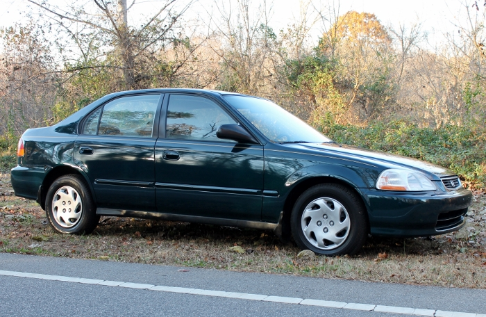 1998 Honda Civic Green Four Cylinder Gas Saver Automatic 1.6 Liter GS Auto Sales, LLC 2750 Meadow Road Clover SC 29710 (2)
