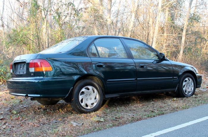 1998 Honda Civic Green Four Cylinder Gas Saver Automatic 1.6 Liter GS Auto Sales, LLC 2750 Meadow Road Clover SC 29710 (5)