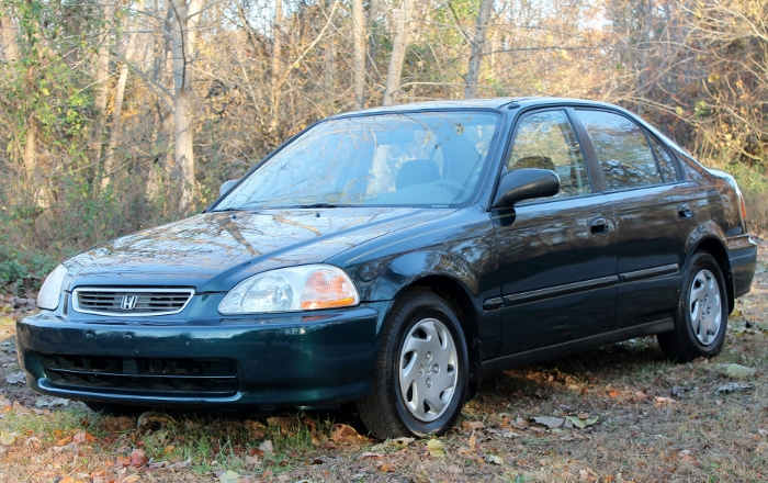 1998 Honda Civic Green Four Cylinder Gas Saver Automatic 1.6 Liter GS Auto Sales, LLC 2750 Meadow Road Clover SC 29710 (8)