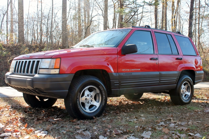 Red 1998 Jeep Grand Cherokee Laredo SUV - 2750 Meadow Road Clover SC 29710 (1)