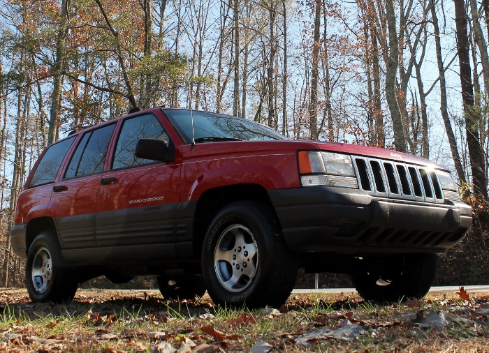 Red 1998 Jeep Grand Cherokee Laredo SUV - 2750 Meadow Road Clover SC 29710 (10)