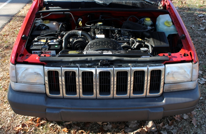 Red 1998 Jeep Grand Cherokee Laredo SUV - 2750 Meadow Road Clover SC 29710 (15)
