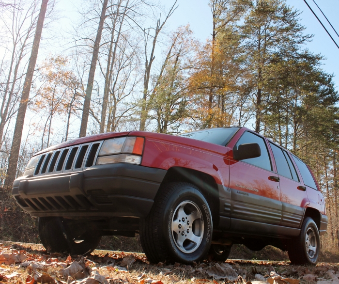 Red 1998 Jeep Grand Cherokee Laredo SUV - 2750 Meadow Road Clover SC 29710 (3)