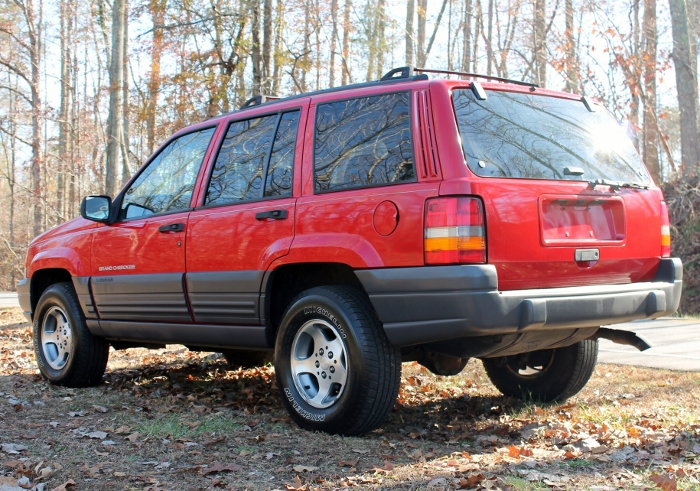 Red 1998 Jeep Grand Cherokee Laredo SUV - 2750 Meadow Road Clover SC 29710 (7)